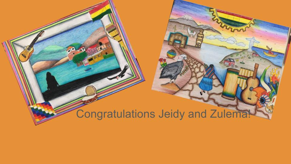 ACHS students win top prizes at Hispanic Youth Leadership Art Contest