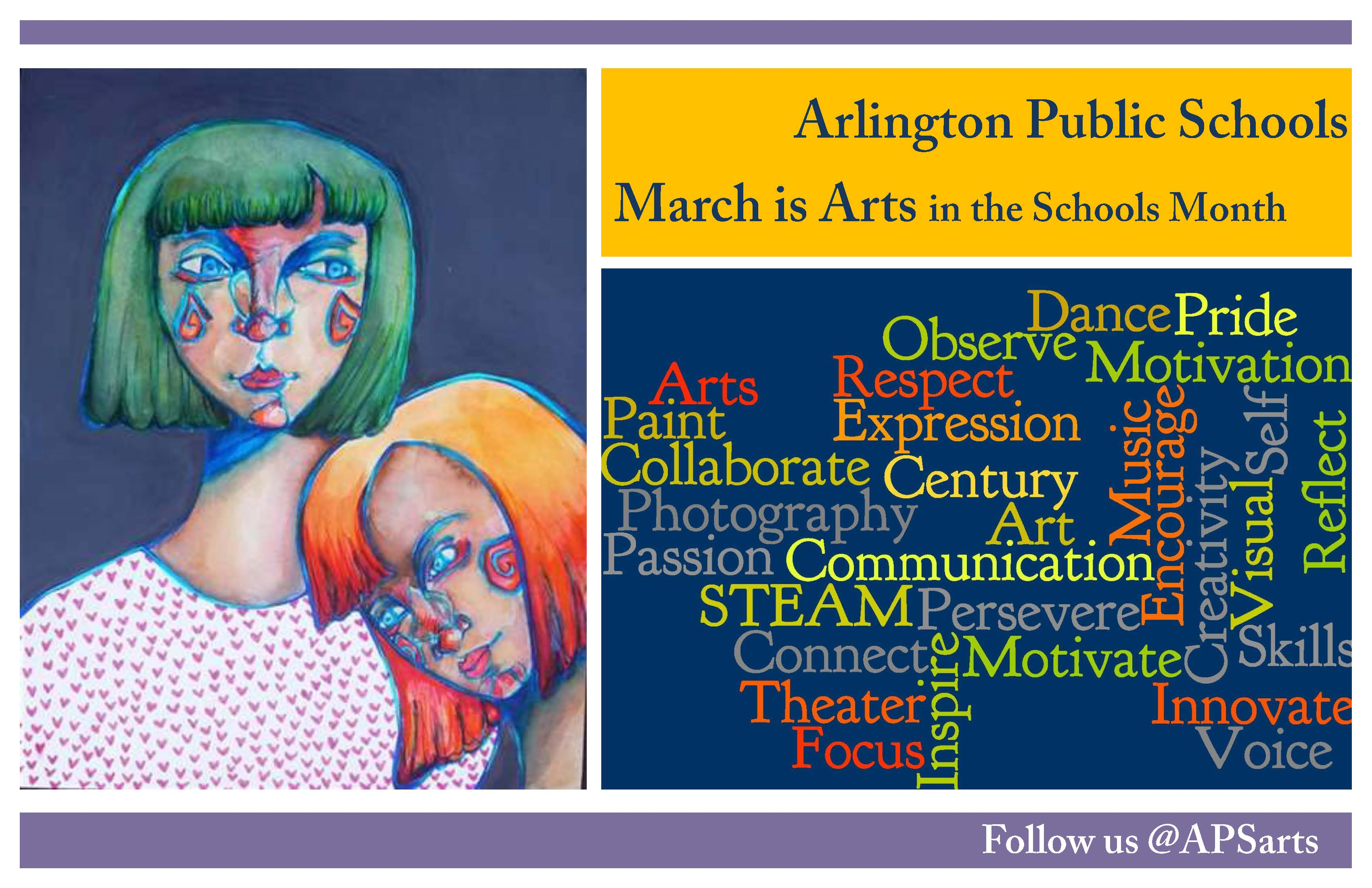 Celebrate Arts in the Schools in March