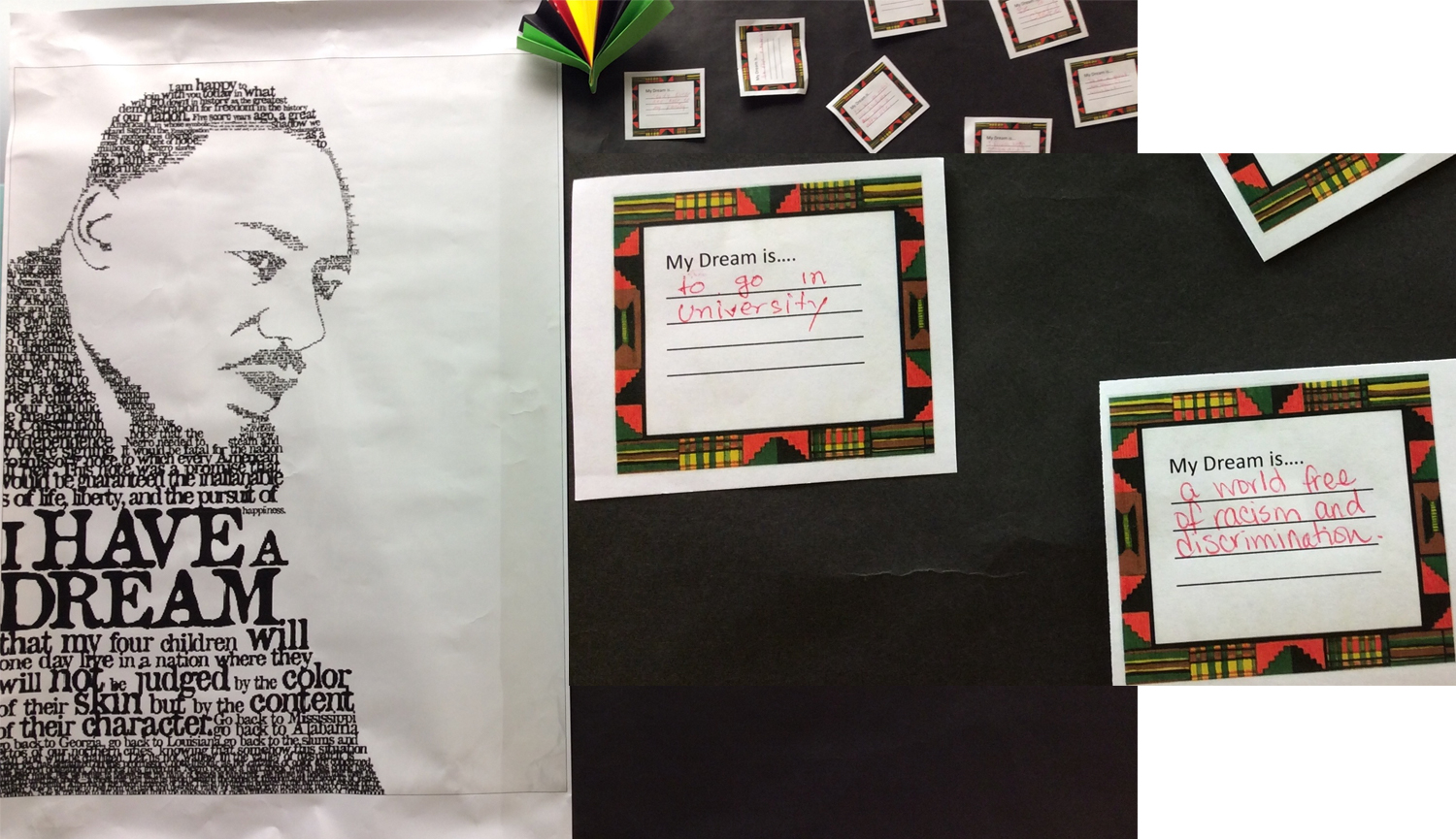 Students Share Their Dreams for Black History Month