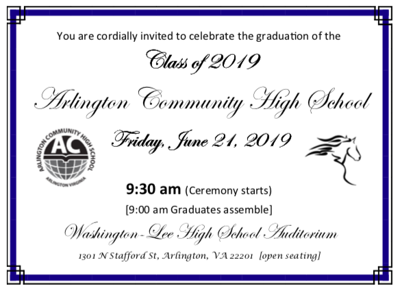 Celebrate our Graduating Class of 2019