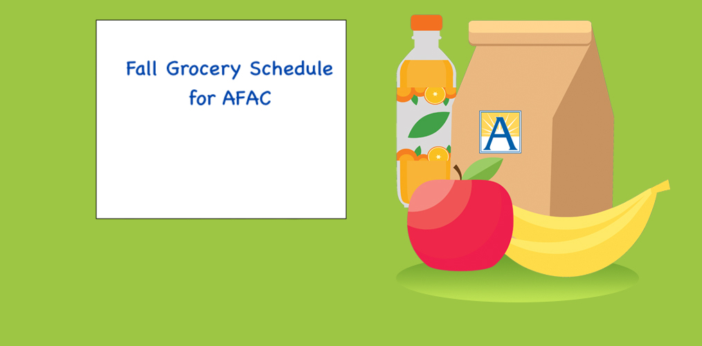 AFAC: Fall Schedule and Locations